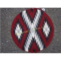 Navajo Rug Round by Barbara Begay