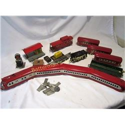 American Flyer O-gauge trains lot