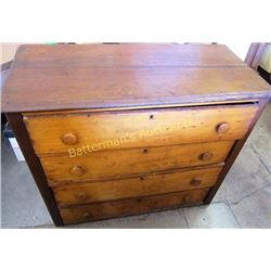 Antique 4 Drawer Dresser