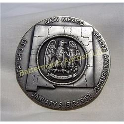 New Mexico Golden  Anniv  999 Silver Medal