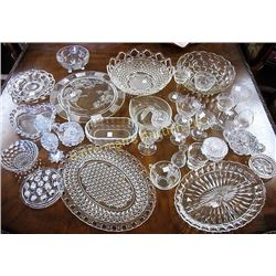 Mix Lot of Crystal and Glass
