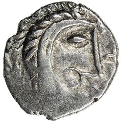 CELTIC: Boudicca, AR unit, ND (61 A.D.). VF