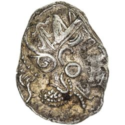 ATTICA: Anonymous, ca. 353-294 BC, AR tetradrachm (17.28g). VF