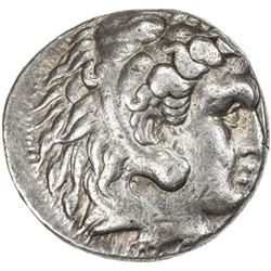 MACEDONIAN KINGDOM: Alexander III, the Great, 336-323 BC, AR tetradrachm (17.13g), Babylon