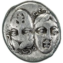 THRACE: Anonymous, ca. 400-350 BC, AR stater (5.61g). F