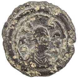 AXUM: Anonymous, late 4th century, AE unit (0.97g). VF