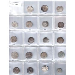 ABBASID: LOT of 16 Abbasid dirhams and 3 miscellaneous Islamic coins