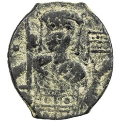 SELJUQ OF RUM: Kaykhusraw I, 1192-1196, AE fals (3.00g), NM, ND. VF
