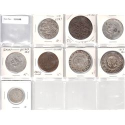 TURKEY: LOT of 8 silver type coins