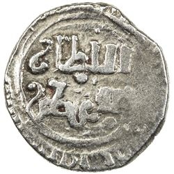 ASSASSINS AT ALAMUT: Muhammad III, 1221-1254, AR fractional dirham (0.86g), NM, AH(61)8. VF