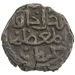 GREAT MONGOLS: temp. Chingiz Khan, 1206-1227, AE jital (2.77g), Kurraman, ND. VF