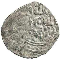 GREAT MONGOLS: Anonymous, ca. 1225-1250, AR dirham (1.54g), Jand, ND. AU