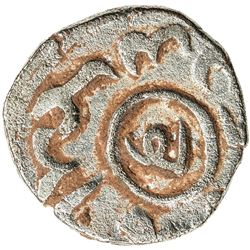 GREAT MONGOLS: Mongke, 1251-1260, BI jital (2.78g), Balad Ghazna, ND. VF-EF