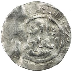 GREAT MONGOLS: Anonymous, AR dirham (2.02g), Badakhshan, ND/DM. VF