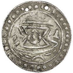 MINEMAW: AR small amulet (3.25g), ca. 10th century or later. VF