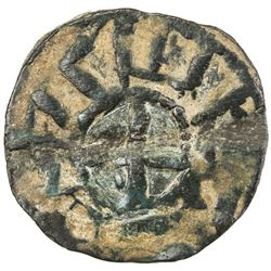 ARMENIA: Rupen I, 1080-1095, AE pogh (2.64g), NM, ND. F-VF