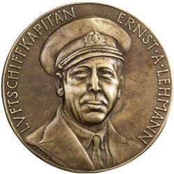 GERMANY: AE medal, 1937. EF