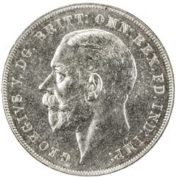 GREAT BRITAIN: George V, 1910-1935, AR crown, 1935. PCGS SP