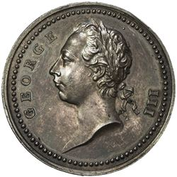 GREAT BRITAIN: AR medal (25.87g), 1760. AU