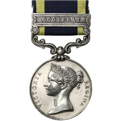 GREAT BRITAIN: Victoria, 1837-1901, AR medal. EF