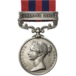 GREAT BRITAIN: Victoria, 1837-1901, AR medal. VF