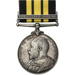 GREAT BRITAIN: Edward VII, 1901-1910, AR medal. VF