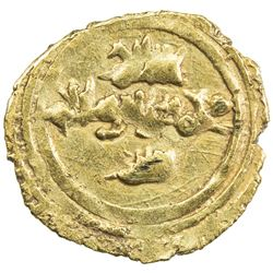 SICILY: Roger I, 1072-1101, AV tari (0.93g) (Messina), ND. EF