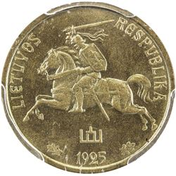 LITHUANIA: Republic, 5 centai, 1925