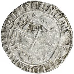 HOLLAND: AR 28 stuivers (19.55g), ND (1693). VF