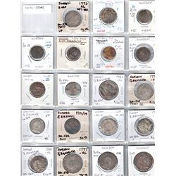 SWEDEN:LOT of 19 silver coins