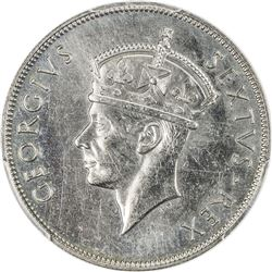 EAST AFRICA: George VI, 1936-1952, 1 shilling, 1949-KN. PCGS SP