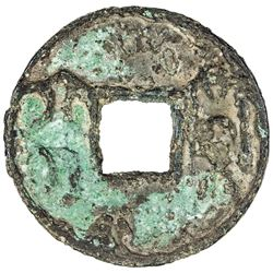 WARRING STATES: State of Qi, 300-220 BC, AE cash (6.51g). VG-F