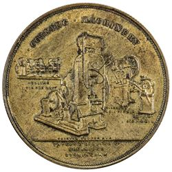 CHINA: AE advertising medal, ND (ca. 1900). PCGS AU58