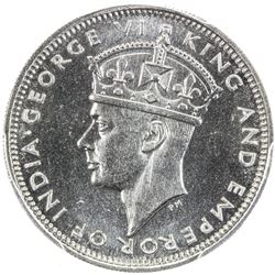 HONG KONG: George VI, 1936-1952, 10 cents, 1939-KN. PCGS SP