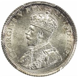 CANADA: George V, 1910-1936, AR 10 cents, 1911. PCGS MS62
