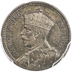 NEW ZEALAND: George V, 1910-1936, AR threepence, 1935, proof, PCGS PF65