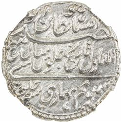 MYSORE: Tipu Sultan, 1782-1799, AR rupee, Patan, AM1217 year 7. NGC MS64