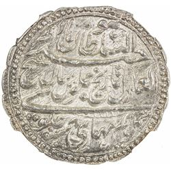 MYSORE: Tipu Sultan, 1782-1799, AR rupee, Patan, AM1218 year 8. NGC MS65