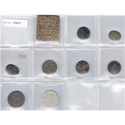 INDIA:LOT of 7 seals and 2 temple tokens