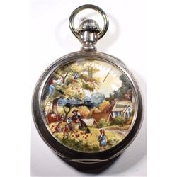 American Waltham Open Face Pocket Watch