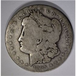 1895-S MORGAN DOLLAR  G-VG