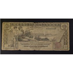 1896 $1.00 EDUCATIONAL SILVER CERTIFICATE