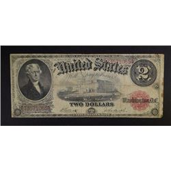 1917 $2.00 LEGAL TENDER NOTE