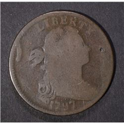 1797 DRAPED BUST LARGE CENT GOOD