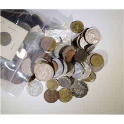 6 pounds FOREIGN COINS VARIOUS COUNTRIES