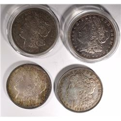 2-1921 & 2-1921-D MORGAN DOLLARS, CIRC OR BETTER