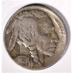 1924-D BUFFALO NICKEL VF