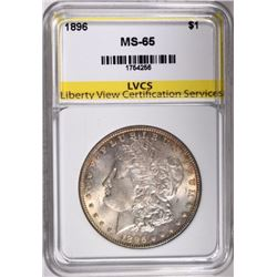 1896 MORGAN DOLLAR LVCS GEM BU