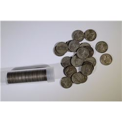 1 - ROLL plus 21 EXTRA SILVER WAR NICKELS