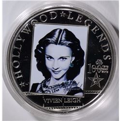 $5 COOK ISLAND $5 SILVER VIVIEN LEIGH PROOF